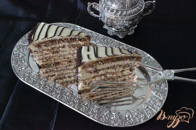 Фото приготовление рецепта: торт *Эстерхази* шаг №12