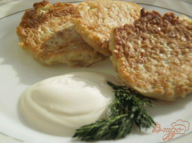 Рецепт Сырно-картофельные оладьи