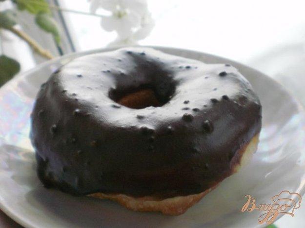 Рецепт Пончики с шоколадной глазурью
