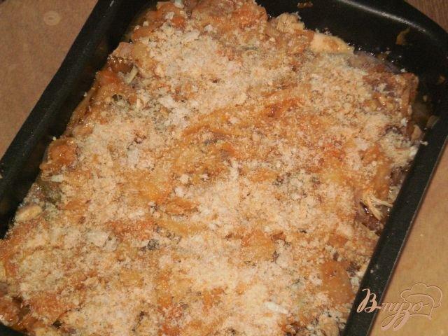 Фото приготовление рецепта: Капустная солянка с грибами и мясом шаг №11