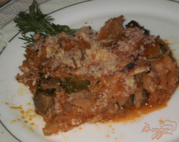 Рецепт Капустная солянка с грибами и мясом