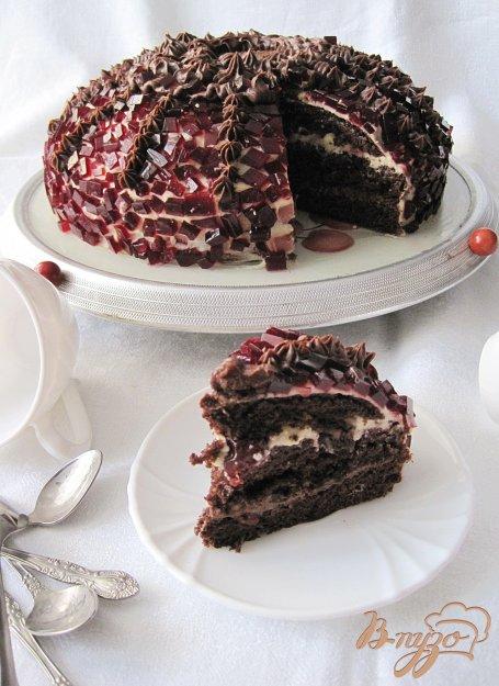 Торт з вишнею. Як приготувати з фото
