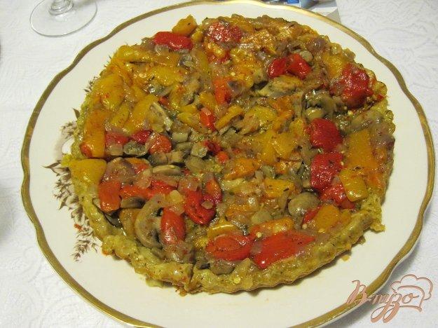 Рецепт Пирог со сладким перцем
