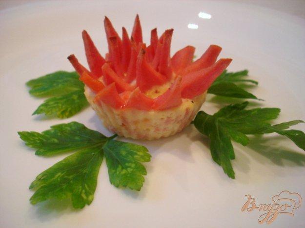 Рецепт Закусочный колбасный цветок