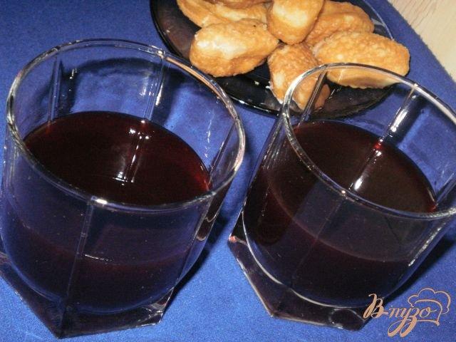 Фото приготовление рецепта: Смородиновый кисель шаг №5