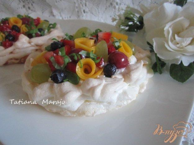Рецепт Меренги с фруктами