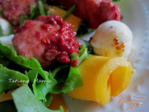 Рецепт Теплый салат с куриным мясом
