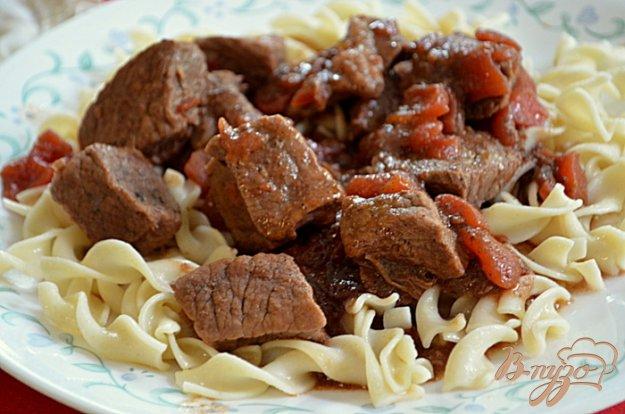 Рецепт Говядина тушенная по-турецки