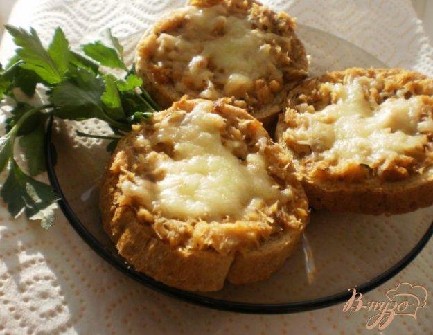 Рецепт Горячие рыбные бутерброды