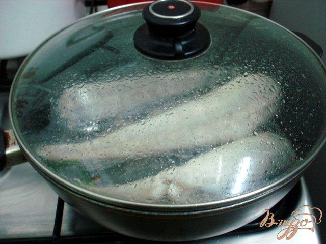 Фото приготовление рецепта: Хек жареный шаг №5