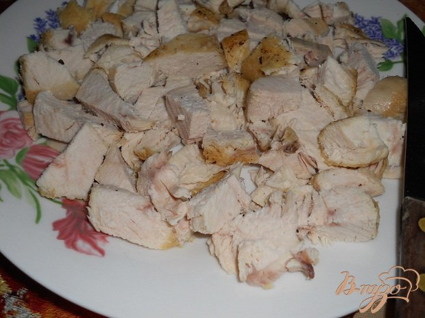 Фото приготовление рецепта: Салат подсолнух шаг №2
