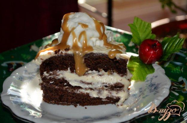 Рецепт Шоколадно-карамельный брауни