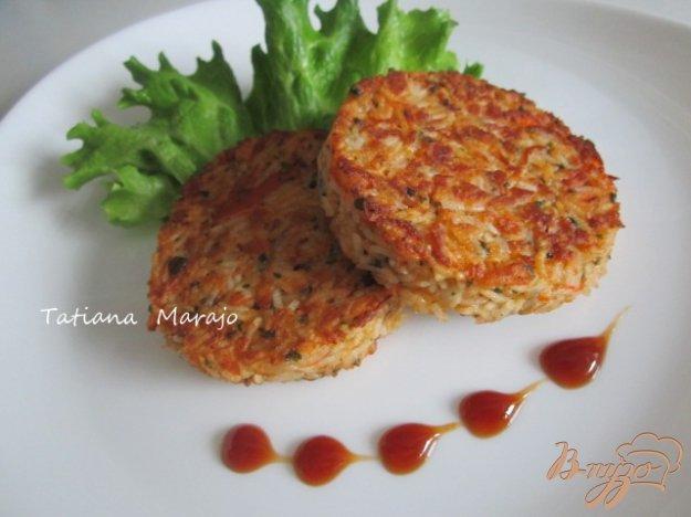 фото рецепта: Рисовые котлетки с сурими