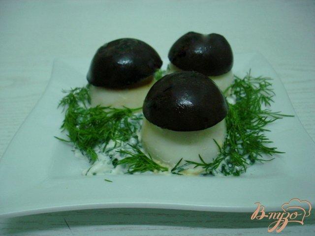 Фото приготовление рецепта: Яйца фаршированные шаг №7