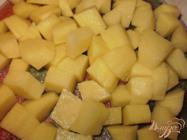Фото приготовление рецепта: Щи из квашенной капусты шаг №3