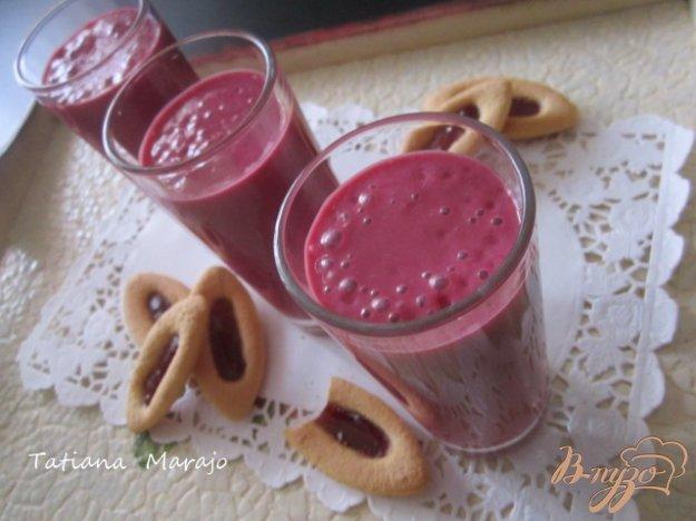 Рецепт Свекольно-малиновый смузи