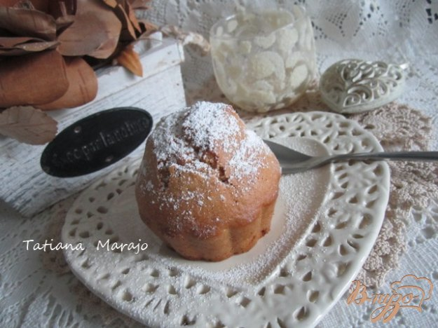 Рецепт Кексы с фруктовой серединкой