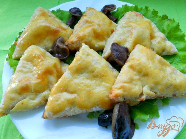 Рецепт Картофельные треугольники