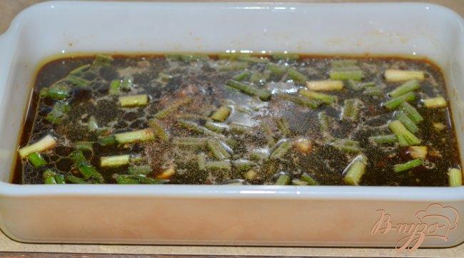 Фото приготовление рецепта: Говядина в цитрусовом маринаде с майонезом. шаг №1
