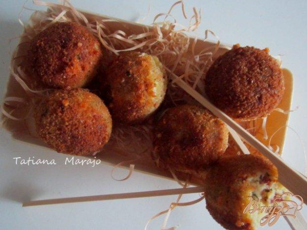 Рецепт Закусочные шарики из гороха нут