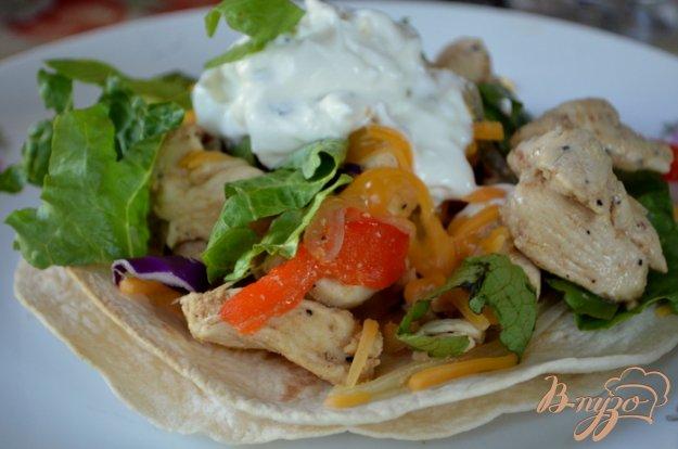 фото рецепта: Легкий рецепт куриного фахитас