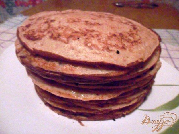 Рецепт Ржаные блины на кефире