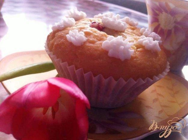 Рецепт Кексы с малиновым джемом