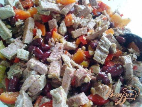 Говядина с овощами в желе
