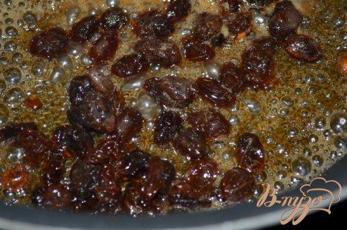 Блинчики с  сиропом из изюма