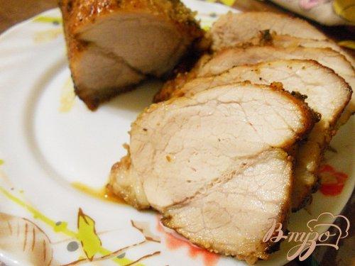Вкусная запеченная свинина в ликере