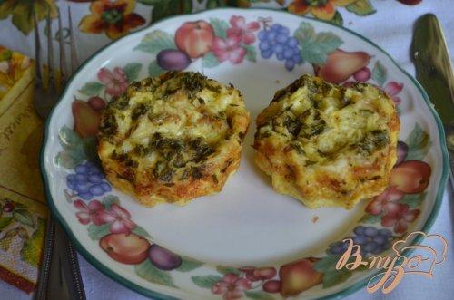 Мини -фриттата на завтрак