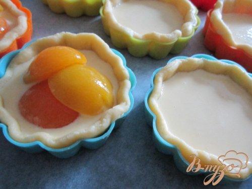 Корзиночки с абрикосами