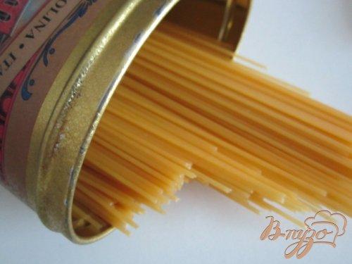 Спагетти с лимонной цедрой