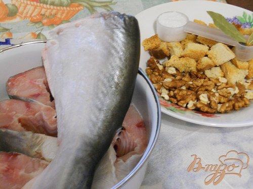 Рыба в ореховой панировке