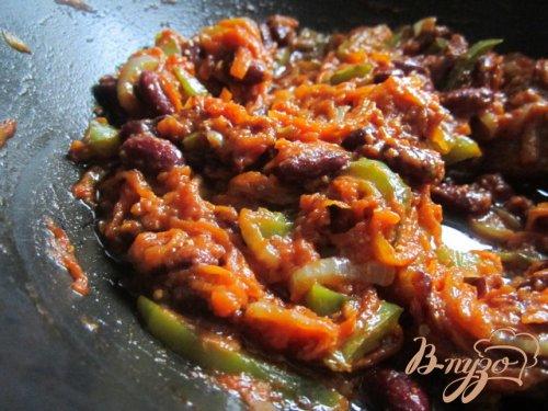 Котлетки с овощным соусом