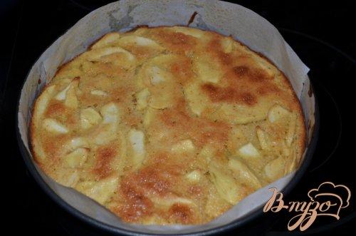 Итальянский яблочный кекс