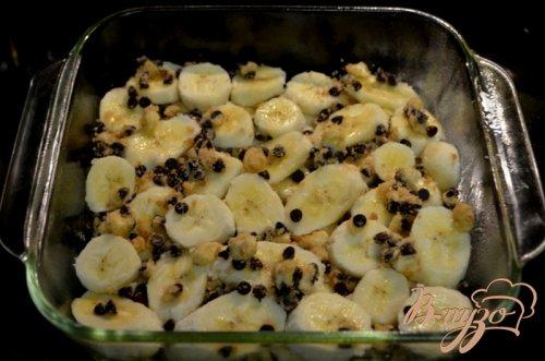 Бананово-шоколадный крамблс