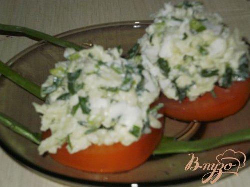 Закуска на помидорах