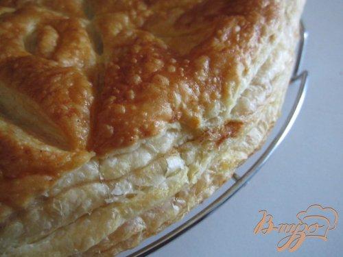 Пирог с франжипаном из лесного ореха