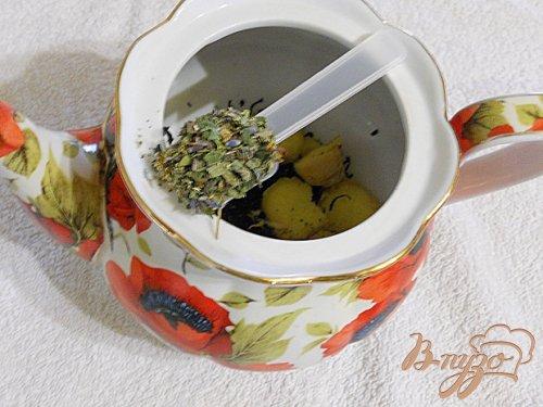 Чай с розмарином, лавандой и имбирем