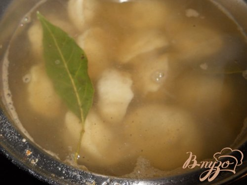 Пельменевый суп