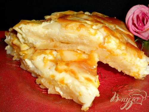 Испанский яблочный пирог