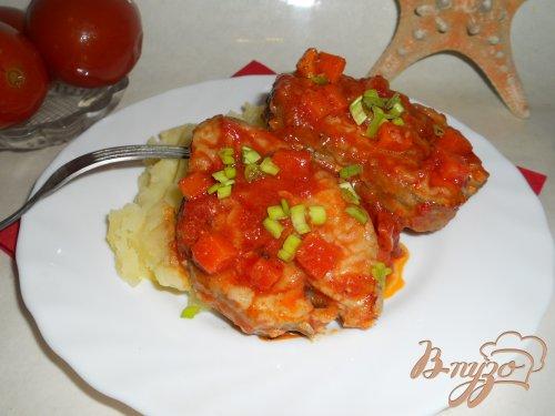 Рыба хоки в томатном соусе