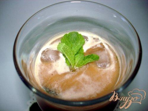 Кофе с мятой и льдом