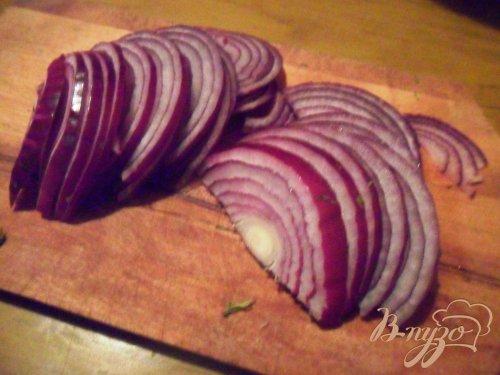 Марокканский картофельный салат с маслинами