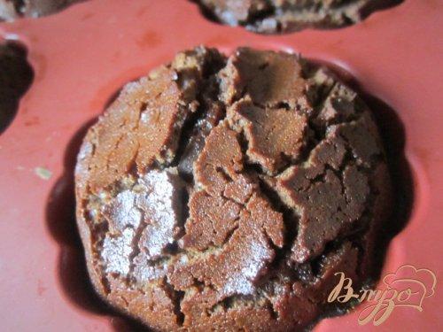 Шоколадно-карамельные пироженые