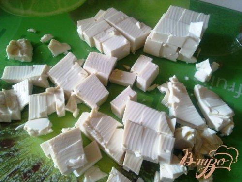Салатный MIX с сыром тофу