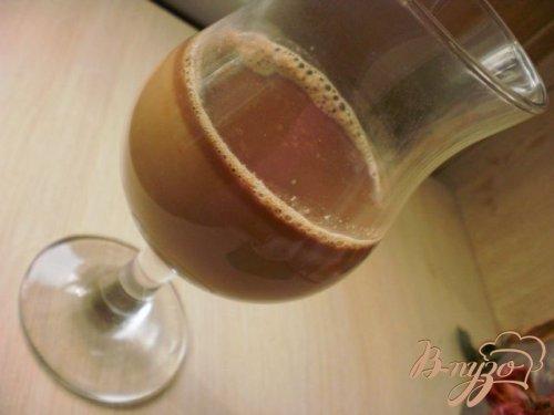 Шоколадно-клубничный чай