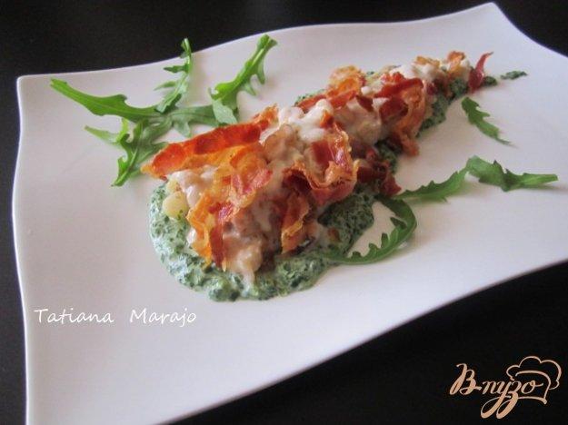фото рецепта: Филе скумбрии с двумя соусами