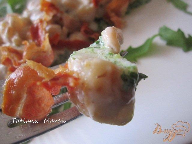 Фото приготовление рецепта: Филе скумбрии с двумя соусами шаг №8